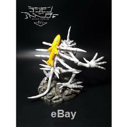 Digimon Digital Monster Skull Greymon Ground Zero GK Resin Figure Model Statue N
