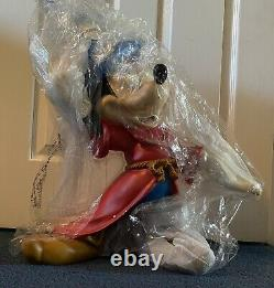 Disney Fantasia Sorcerer 22 Resin Mickey Mouse Big Fig Figure Statue