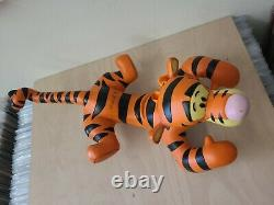 Disney Large Tigger Resin Statue Figure Rutten Winnie the Pooh 21 Inches