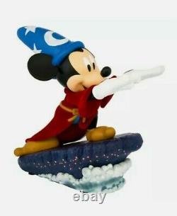 Disney Parks Figure Mickey Mouse Sorcerer Apprentice Resin Statue Figurine