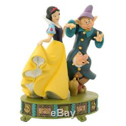 Disney Store Japan 25th Anniversary Snow White Figure Dopey Statue Doll F/S New