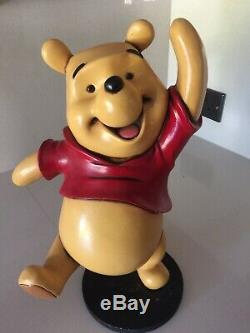 Disney WINNIE THE POOH & FRIENDS statue TIGGER & POOH figurine RESIN figure