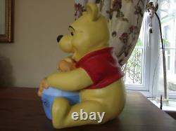 -Disney Winnie the Pooh Ex Disney Store Display Resin Statue Figure