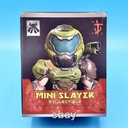 Doom Eternal Doomguy Mini Slayer Figure + Sticker Official Figurine Statue 3.25