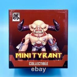 Doom Eternal Mini Tyrant Figure + Sticker Official Demon Lord Figurine Statue 3