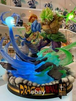 DragonBall Z/Super Broly vs Gogeta Statue Figur Resin (no Sideshow)