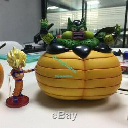 Dragon Ball Self-Destruct Cell Statue Son Goku Resin Figure League Studio WCF GK