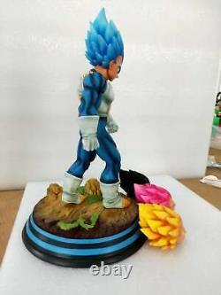 Dragon Ball Super Saiyan Vegeta Resin GK Statue Figure Deluxe Version With4 Heads