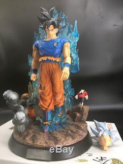 Dragon Ball Super Son Goku Migatte no Gokui SSJ Resin GK Statue New Figure Hot