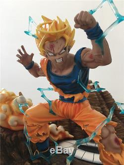 Dragon Ball Z 1/4 Scale Kakarotto VS Vegeta Resin GK Figure Collectors Statue A+