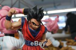 Dragon Ball Z 1/4 Scale Son Gohan VS Majin Buu Resin Figure Collection Statue