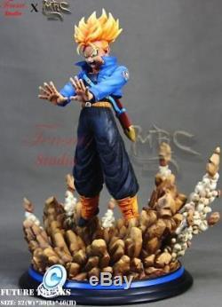 Dragon Ball Z 1/6 Scale Future Trunks Resin GK Figure Statue In Stock 40cm High