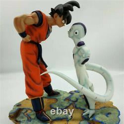 Dragon Ball Z-DBZ Figure Frieza Goku High Quality Resin Statue Luminous Base