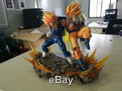 Dragon Ball Z GK Resin Statue Super Goku VS Manji Vegeta IN STOCK Recast Figure
