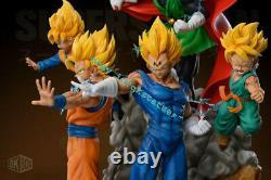 Dragon Ball Z Saiyan Family Statue Resin Figure GKBOX Studio Presale 55cm