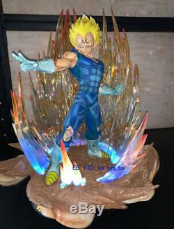 Dragon Ball Z Vegeta Statue Resin Model GK Figurine Lighting 1/4 Figure IN STOCK