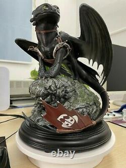 Dragon Toothless Action figure model Statue collection model adult Big gift