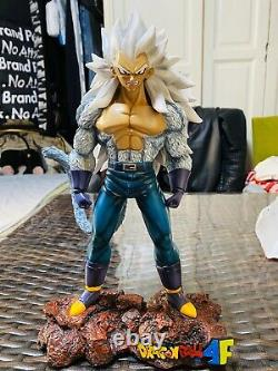 Dragonball AF Rare SSJ5 Vegeta Super Saiyan Resin Statue Figure DBZ Limited GK