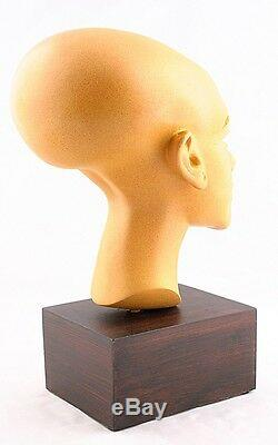 Egyptian Head Bust Princess Statue Art Replica Figure Figurine Sculpture Pharaoh