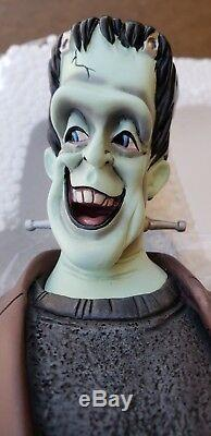 Electric Tiki HERMAN MUNSTER maquette bust statue figure
