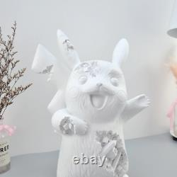 Eroded PIKACHU Daniel Arsham Statue Figure Collectible Pop Art Home Decor Model