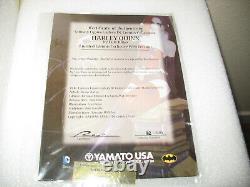 FANTASY FIGURE GALLERY HARLEY QUINN #162/500 16 RESIN STATUE by LUIS ROYO