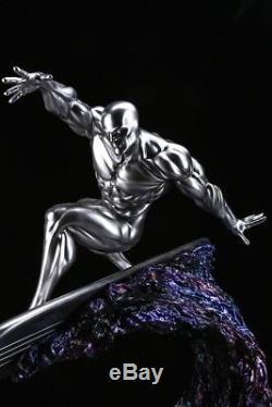 Fantastic Four Silver Surfer Resin GK Statue Marvel Hero Collection Figure Model