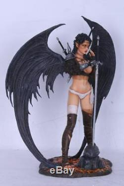 Fantasy Figure Gallery Resin-Statue Dark Elf (Luis Royo) Mängelexemplar 2