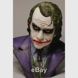 Figure 11.5 Scale The Joker Heath Ledger Bust Statue Limited365 Model In Stock
