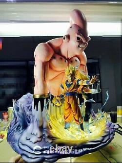 Figure Class Dragon Ball Super Majin Buu Goku Vegeta Resin Statue FC Saiyan 2