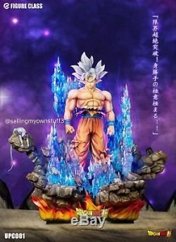 Figure Class Dragon Ball Super Master Ultra instinct Son Goku MUI resin statue