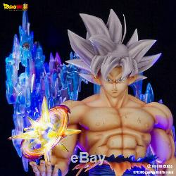 Figure Class Dragon Ball Super Mastered Ultra instinct Goku MUI resin statue FC