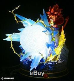 Figure Class Dragon Ball Super Saiyan 4 Gogeta Big Bang Kamehameha Resin Statue