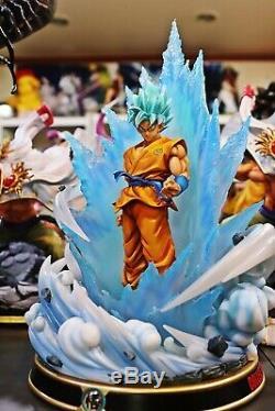 Figure Class Dragon Ball Super Saiyan Blue SSGSS Son Goku Resin statue FC black