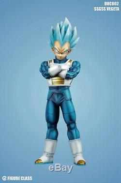 Figure Class Dragon Ball Super Saiyan Blue SSGSS Vegeta Resin statue FC goku 3 2