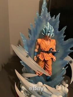 Figure Class Dragon Ball Super Saiyan Blue Ssgss Goku Resin Statue