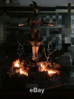 Figure Class Dragon Ball Super Saiyan Rose Goku Black Resin Statue FC zamasu