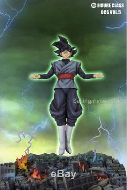 Figure Class Dragon ball Super Goku Black Resin Statue Saiyan Rose UI Zamasu