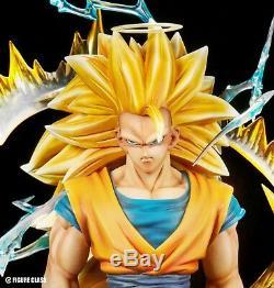 Figure Class FC Dragon Ball Super Saiyan 3 Son Goku Resin statue ssj3 Z Black 2