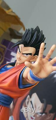 Figure Class Ultimate Mystic Son Gohan Resin Statue FC Goku MUI Ultra Instinct
