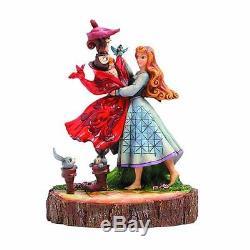 Figure Disney Traditions Sleeping Beauty Aurora Statue Statua Resina Resin #1