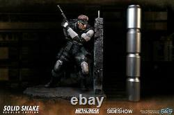 First 4 Figures Metal Gear Solid Solid Snake Statue New