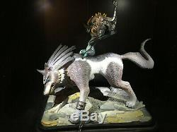 First 4 Figures Wolf Link and Midna Statue Legend of Zelda (Read Description)