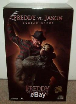 Freddy vs Jason #AP/200 Sideshow Exclusive MIB Scream Scene Statue figure mask
