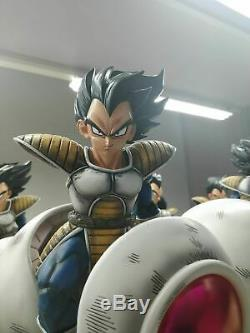 GK Dragon Ball Vegeta Spacecraft Resin Statue Figure Collectables IN BOX WithCard