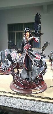 GK Resin Naruto Uchiha Itachi Statue Figure Collectible Toy 13H Recast Statue