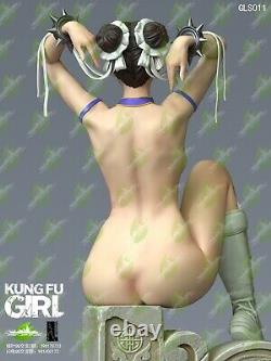 GREEN LEAF STUDIO 14 GLS011 Kung Fu Girl Female Figure Statue Toys Presale