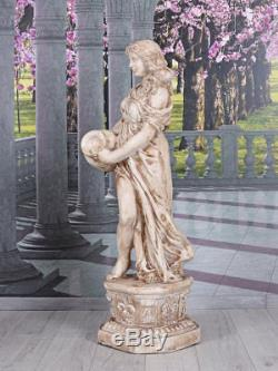 Gartenfigur Toscana Frauenfigur Statue Antik Figur Frau Skulptur Venus 120cm
