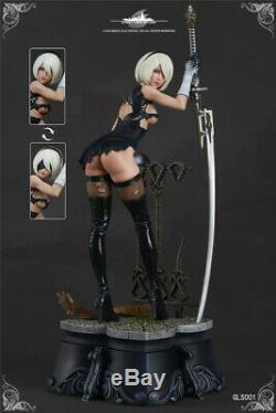 Green Leaf 2B NieRAutomata YoRHa No. 2 Type B Battle 1/7 Resin Statue Figure New