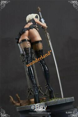 Green Leaf Studio GK NieRAutomata 2B 2P GK Collector Resin Statue Limited